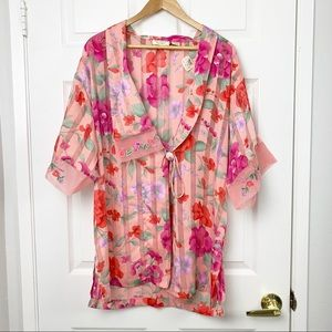 Vintage Victoria's Secret kimono cover up robe
